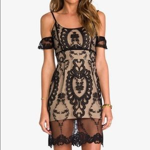 Vintage For Love & Lemons Vienna Lace Dress